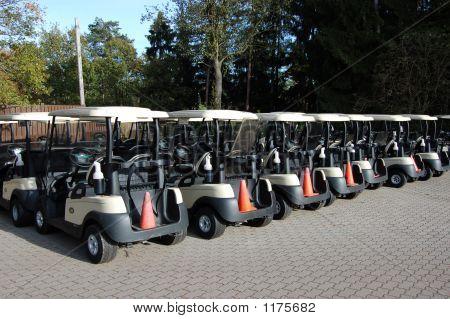 The Golf Cart Line-Up