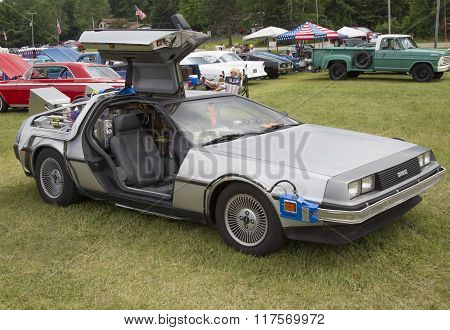 Delorean Dmc-12 Back To The Future Car Model
