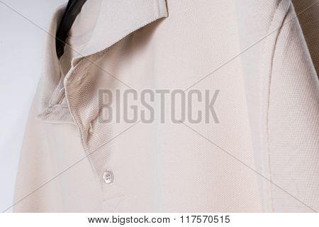 Single garment of men apparel.