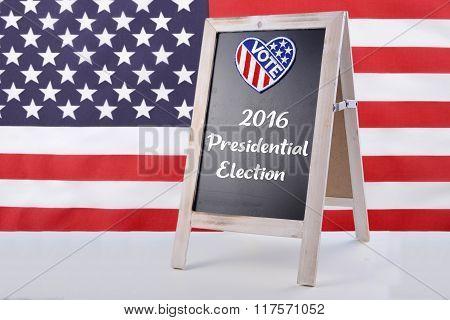 Usa Election Notice Board