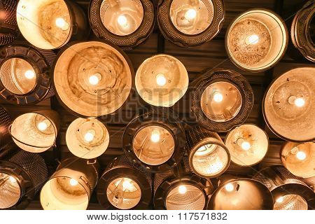 Beautiful Vintage Lighting Lamp Decor