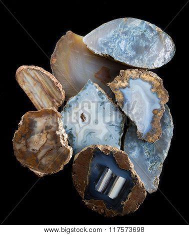 Polished Stone Close Up