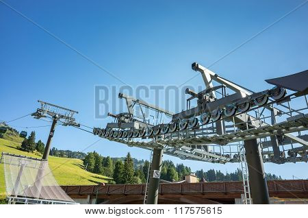 Ski Station In Summer