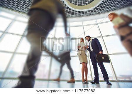 Networking in corridor