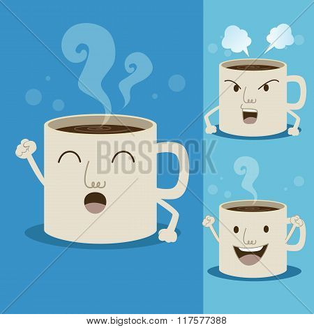 Cup Of Coffee Cartoon