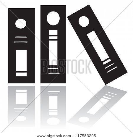 Binders silhouette