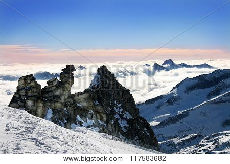 Zillertal Glacier