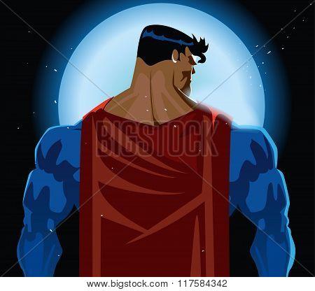 Superhero Back