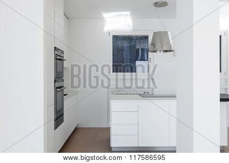 Modern minimal kitchen white
