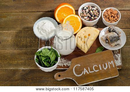 Best Calcium Rich Foods Sources. Healthy Eating