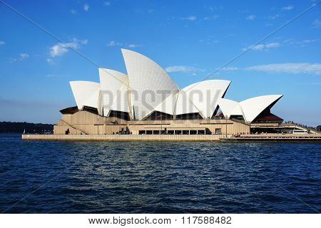 Sydney Opera House View In Sydney, Australia