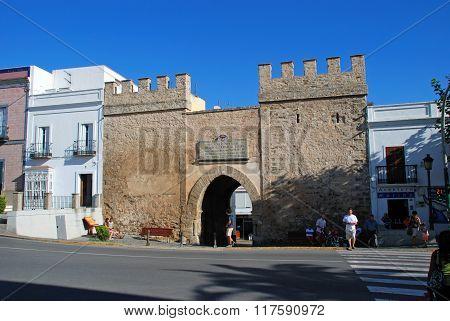 Tarifa Town Gate.