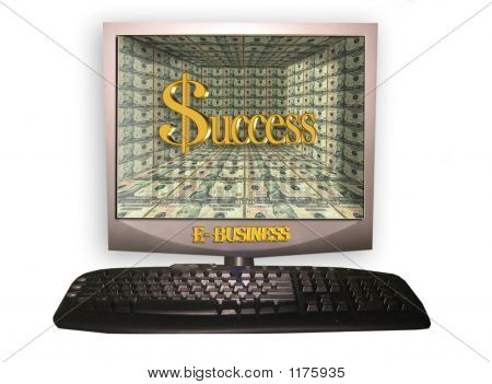 E Business Pc Isolated