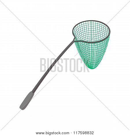 Fishing net cartoon icon