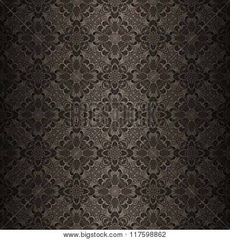 seamless ornamental pattern