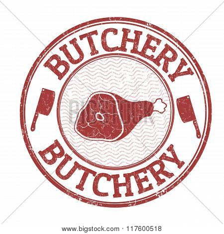 Butchery Stamp