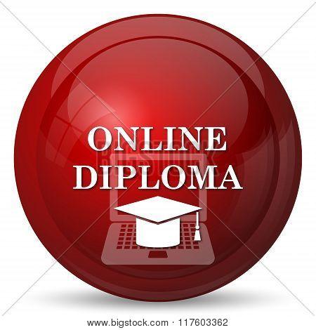 Online Diploma Icon