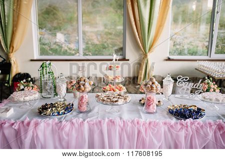 Wedding Dessert Cakes And Sweets