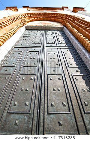 Mercallo Rusty Brass Brown Knocker A  Door
