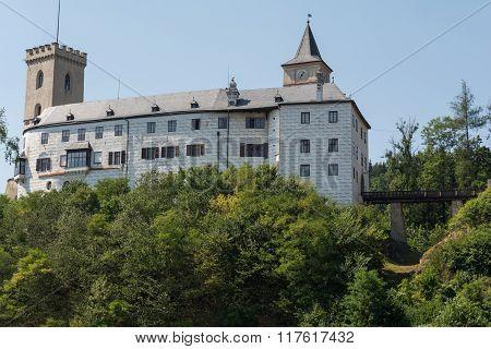 Rosenberg Castle In The Czech Republic