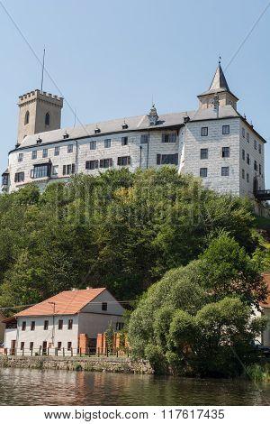Rosenberg Castle On The Vltava