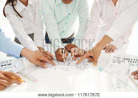Discussing general idea