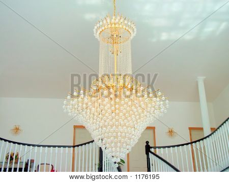 Gold Plated Chandelier
