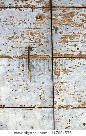 Cross  Arsago   Knocker In A  Door Curch  Closed   Italy