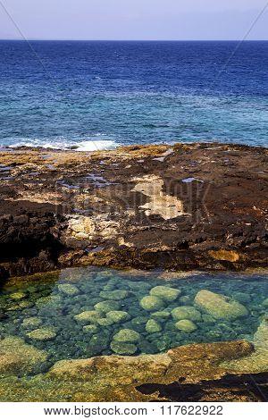 Coastline Sky Cloud Beach  Water  Musk  And Summer