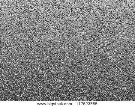 texture of a metal foil