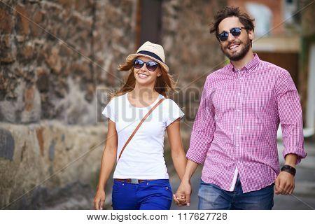 Amorous tourists