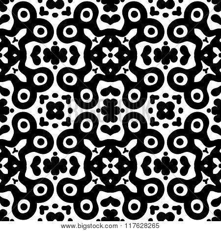 Abstract Geometric Symmetry Modern Fashion Seamless Pattern