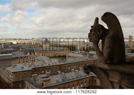 Notre Dame De Paris, France, Europe