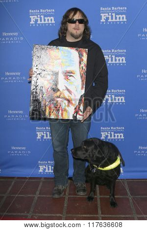 SANTA BARBARA - FEB 9:  John Bramlitt at the 31st Santa Barbara International Film Festival Montecito Award at the Arlington Theatre on February 9, 2016 in Santa Barbara, CA