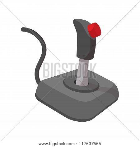 Video game controller cartoon icon