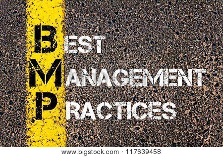 Business Acronym Bmp Best Management Practices