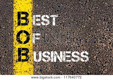 Business Acronym Bob Best Of Business