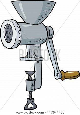Cartoon Meat Grinder