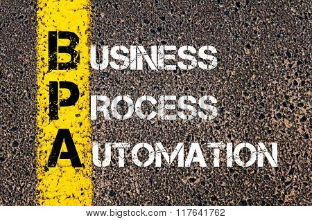 Business Acronym Bpa Business Process Automation