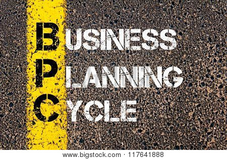 Business Acronym Bpc Business Planning Cycle