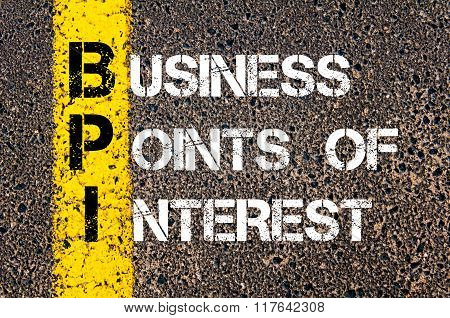 Business Acronym Bpi Business Points Of Interest