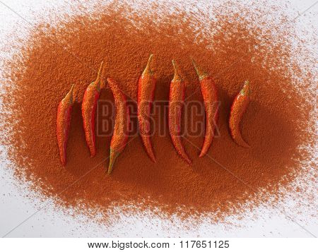 chili padi and chili powder