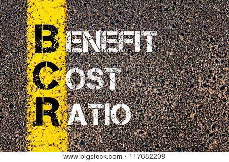 Business Acronym Bcr Benefit Cost Ratio