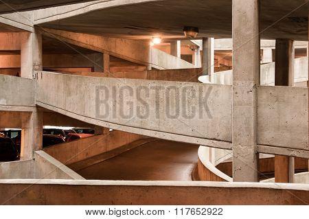 Parking Garage In The City