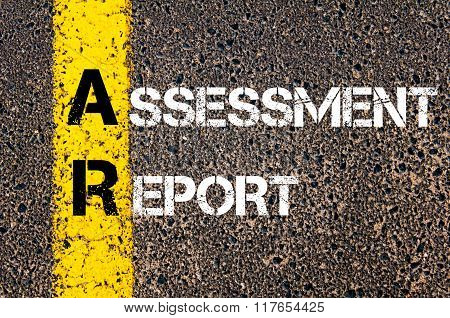 Business Acronym Ar Assessment Report