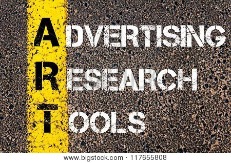 Business Acronym Art Advertising Research Tools
