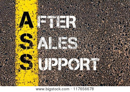 Business Acronym Ass After Sales Support