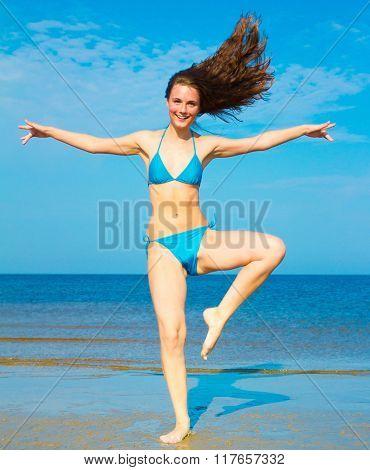 Exercising Model Jolly Girl
