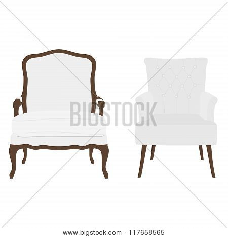 Two Armchairs Vector