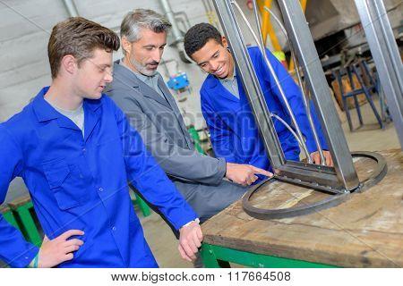 steel apprentices